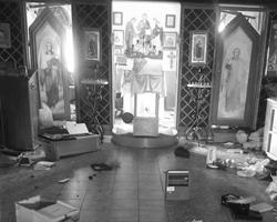 Осквернение храмов было в порядке вещей<br>(фото: eparhiya.od.ua)