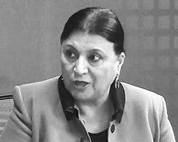 Говхар Бахшалиева (фото: Ikisahil TV/youtube.com)