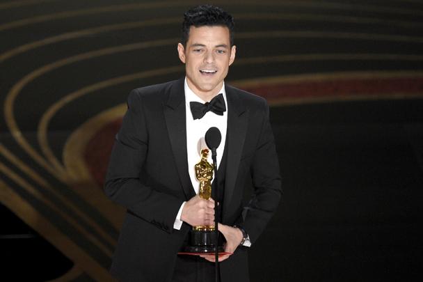 Рами Малек удостоен награды киноакадемии США «Оскар» в категории «Лучшая мужская роль» («Богемская рапсодия»)