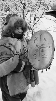 Бубен Алефтина Денисовна сделала себе несколько лет назад – в Норвегии