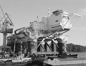 Платформа Odyssey (фото: Михеев Алексей/Фотохроника ТАСС)