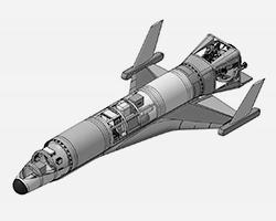 Проект многоразового космического аппарата (фото: АО «ИСОН»)
