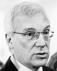 Замминистра иностранных дел России и бывший постпред России при НАТО Александр Грушко (фото: Geert Vanden Wijngaert/AP/ТАСС)