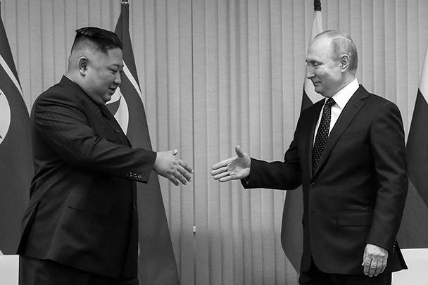 По итогам переговоров тет-а-тет с Владимиром Путиным Ким Чен Ын заявил, что Россия является великим дружественным соседом КНДР