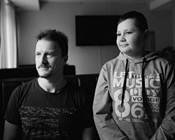 Донор Андрей Тихов и спасенный им Игорь Приятелев (фото: Евгения Жуланова/Кровь 5)