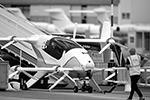 Французская компания Airbus представила экспериментальное летающее такси Vahana, оснащенное электрическим двигателем вертикального взлета и посадки  (фото: Pascal Rossignol/Reuters)