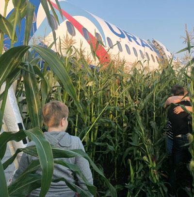 Самолет летел из Жуковского в Симферополь
