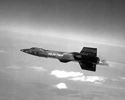 North American X-15 (фото: U.S. Air Force)