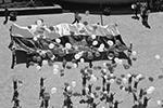 Белый, синий и красный цвета с 19-го века считаются общеславянскими; сейчас они используются в госсимволике многих стран Восточной и Южной Европы. Но образцом послужил именно российский триколор, который еще указом Петра I был утвержден в качестве государственного символа (фото: Сергей Пивоваров/РИА «Новости»)