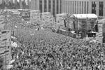 День флага России отмечается 22 августа по всей стране с 1994 года, однако таких массовых торжеств Москва не видела давно (фото: соц сети)