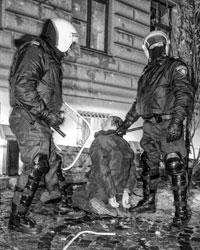 Из-за жестокого подавления протестов в Риге страну накрыл шок (фото: Владимир Старков/ТАСС)