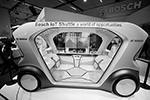 Немецкая компания Bosch ставит на разработку автономных электрошаттлов, предрекая им большое будущее в крупных городах всего мира. Концепт IoT shuttle (фото: Wolfgang Rattay/Reuters)