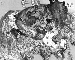 Пример анималистической карты (Фото: Public domain)