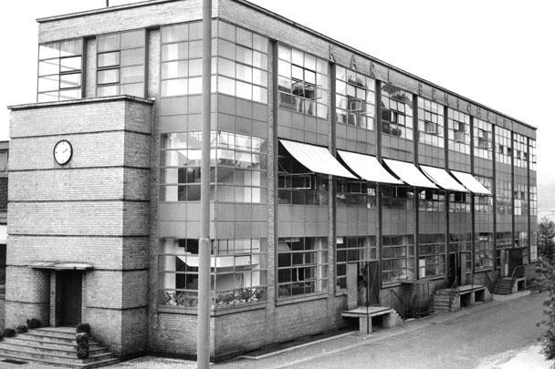 Фабрика Фагус, Альфельд город в Германии, Нижняя Саксония
