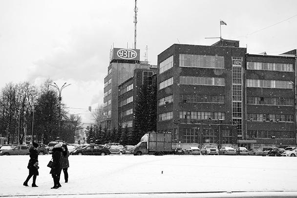 Завод Уралмаш в Екатеринбурге