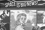 Главными героинями календаря стали девушки, покоряющие космос, что немедленно вызвало шквал критики со стороны феминисток (фото: facebook.com/tarrusov)