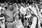 На сайте Кремля появился архив фотографий и видеороликов, запечатлевших яркие моменты 20-летнего пребывания Владимира Путина на посту президента и премьер-министра с момента, когда он был назначен исполняющим обязанности главы государства. Пока опубликована хроника вплоть до 2004 года – это 600 фото и 100 видео. Чтобы посмотреть все материалы, потребуется два с половиной часа (фото: kremlin.ru)