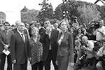 В мае 2003 года в гости к Путину в Кремль приехали сооснователь группы The Beatles Пол Маккартни и его жена Хизер Миллс (фото: kremlin.ru)