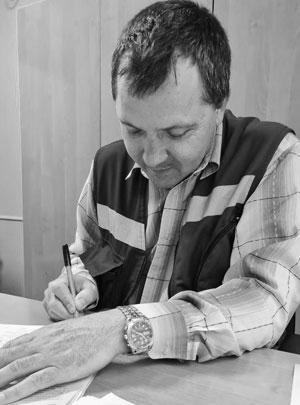 Старший фельдшер станции скорой помощи в Каменоломнях Андрей Кисляков