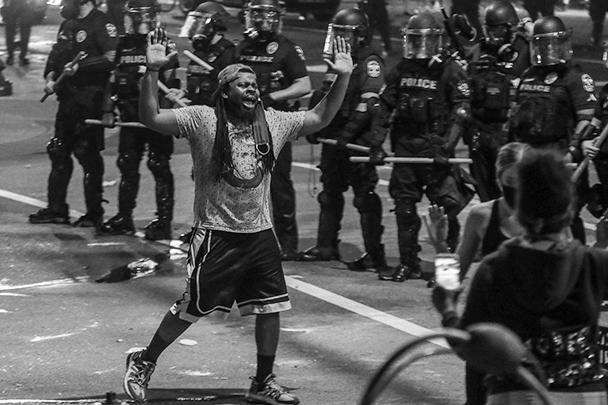 Самые многочисленные участники беспорядков – афроамериканцы