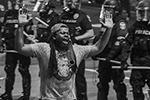 Самые многочисленные участники беспорядков – афроамериканцы (фото: Michael Clevenger/Courier Journal via Imagn Content Services, LLC/К=Reuters)