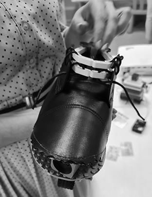 Робототехнический ботинок