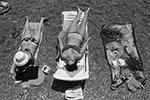 Нынешний сезон поздно стартовал из-за пандемии коронавируса, поэтому курортам придется принять большее число людей в сжатые сроки(фото: Сергей Мальгавко/ТАСС)