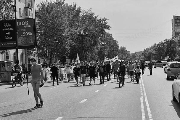 Число протестующих гораздо ниже, чем пишут об этом некоторые СМИ