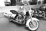 Мотоцикл Harley-Davidson (фото: пресс-служба Национального автомобильного музея в Турине)