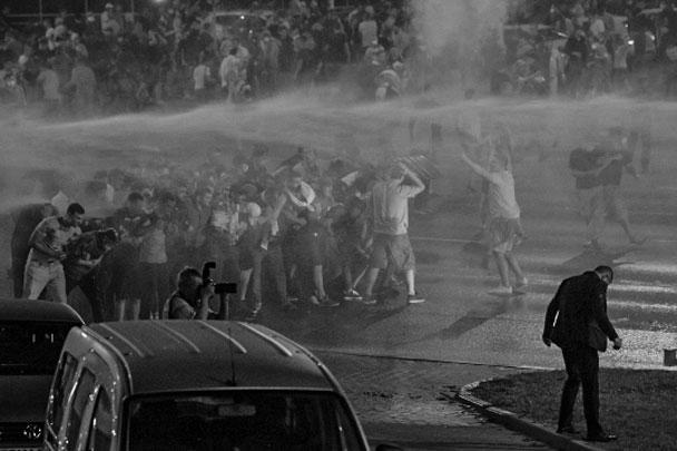 МВД Белоруссии сообщило о задержании в ходе беспорядков 3 тыс. человек