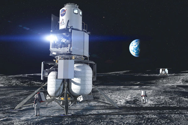 Как должен выглядеть этот модуль на  Луне