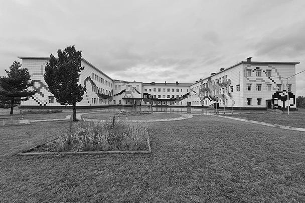 Быстринская средняя школа. Село Эссо, Камчатский край