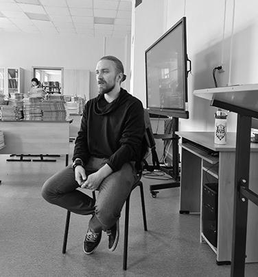Антон Зонов, преподаватель Быстринской средней школы. Село Эссо