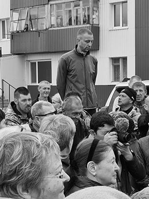 Райцентр Усть-Камчатск и встреча Владимира Солодова с жителями