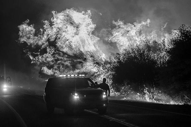 По последним данным, которые постоянно обновляются, количество очагов возгорания с учетом ликвидированных превышает 7600