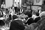 Рабочая встреча российских ученых и монахов-исследователей с Далай-ламой(фото: Фонд Н.П.Бехтеревой/Фонд