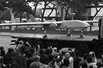 Cредневысотный беспилотный летательный аппарат большой продолжительности полета класса MALE (medium-altitude, long-endurance) Heron-1 MkII производства израильской компании Israel Aircraft Industries во время военного парада, посвященного окончанию конфликта в Нагорном Карабахе (фото: Валерий Шарифулин/ТАСС)