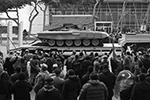 Тяжелая огнеметная система ТОС-1А во время военного парада, посвященного окончанию конфликта в Нагорном Карабахе (фото: Валерий Шарифулин/ТАСС)