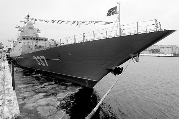 «Гремящий» – головной корвет с управляемым ракетным оружием проекта 20385. Он был заложен на предприятии «Северная верфь» 1 февраля 2012 года и спущен на воду в июне 2017 года