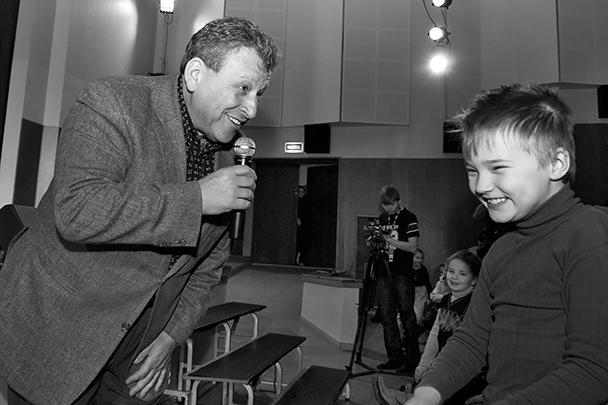 У Бориса Грачевского всегда был особый подход к детям