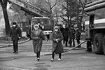 Предварительная причина пожара в кардиохирургическом корпусе Благовещенска – нарушение в работе электропроводки(фото: Владимир Воропаев, Амурская правда)