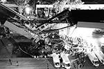 Инцидент произошел на 12-й линии метрополитена Мехико 3 мая в 22.25 по местному времени (06.25 мск 4 мая) между станциями «Оливос» и «Тесонко». Два вагона упали с высоты около 10 метров. По данным СМИ, вагоны были переполнены пассажирами(фото: Xin Yuewe/ТАСС)
