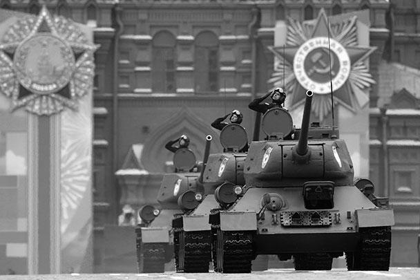 Участие в парадах Победы советских танков Т-34 стало уже традицией. Это один из главных символов Победы над фашизмом