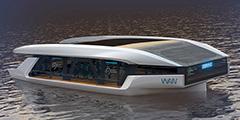 В рамках разработки системы водного общественного транспорта Москвы намечены три варианта судна с панорамным видом на город