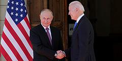 Президенты России и США Владимир Путин и Джо Байден встретились на вилле Ла Гранж в Женеве. У входа на виллу лидеры обменялись улыбками и рукопожатием. Это первый российско-американский саммит с лета 2018 года, когда Путин встречался с Дональдом Трампом в Хельсинки