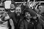 Впервые с 1976 года победитель Евро определился в серии пенальти – сборная Италии оказалась сильнее со счетом 3:2.  Решающим стал промах полузащитника Букайо Сака. Его удар отразил Джанлуиджи Доннарумма(фото: Fabio Ferrari/lLaPresse/Global Look Press)