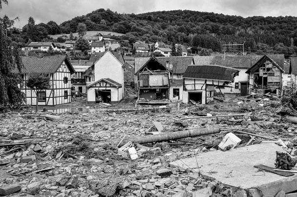 Под ударом стихии в первую очередь оказались земли Северный Рейн – Вестфалия и Рейнланд-Пфальц