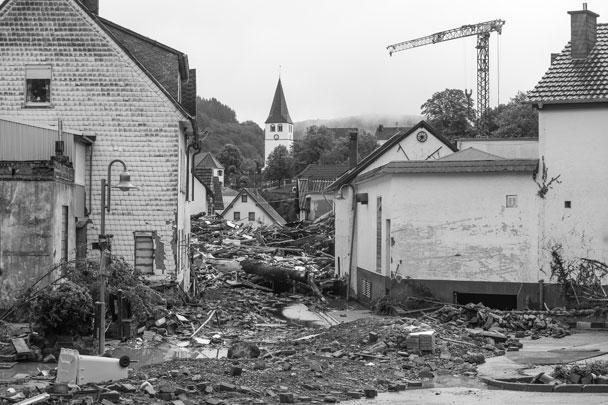 Больше всего пострадали федеральные земли Северный Рейн – Вестфалия и Рейнланд-Пфальц