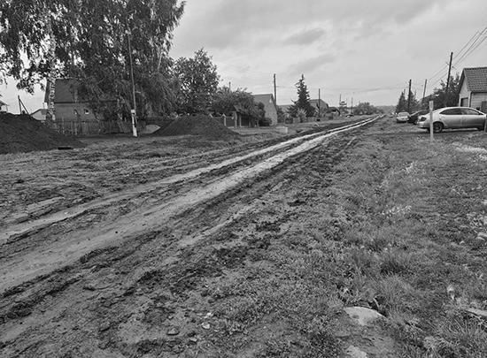 Деревня Верхний Карбуш, улица Карбышева