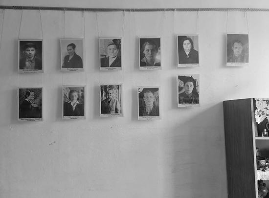 Школьный музей деревни Верхний Карбуш